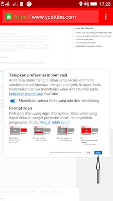 cara monetisasi iklan divideo youtube
