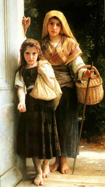 Адольф Вильям Бугро - Попрошайки (1890)