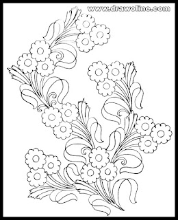 hand embroidery flowers pictures free/pencil drawing Embroidery design paper