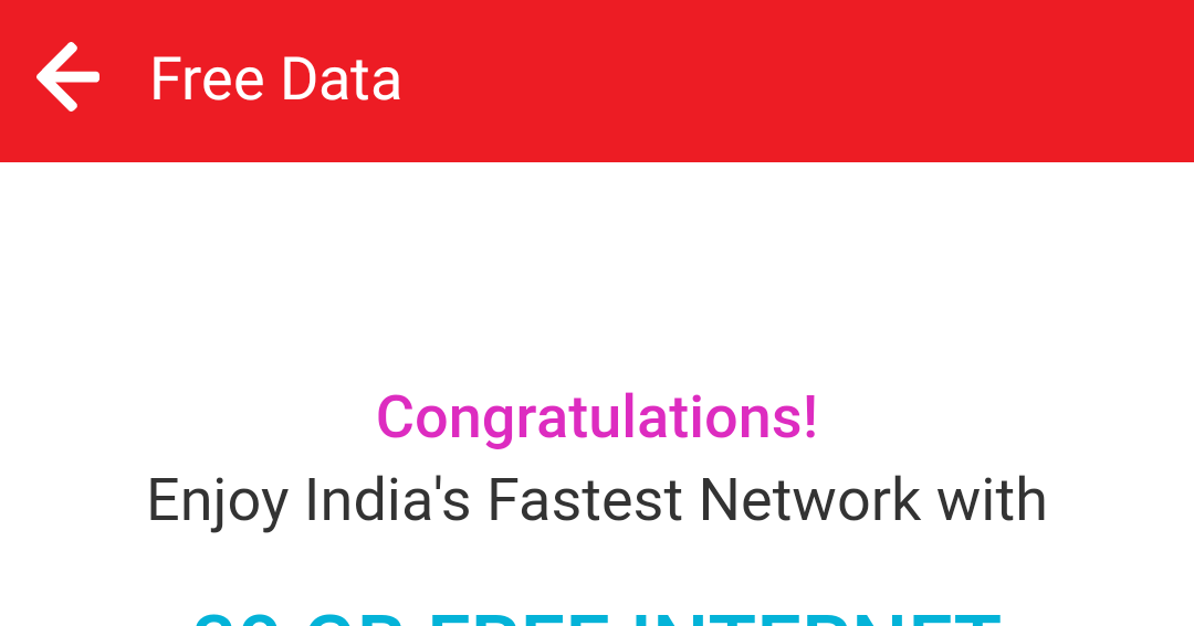 how to get 4g data for free