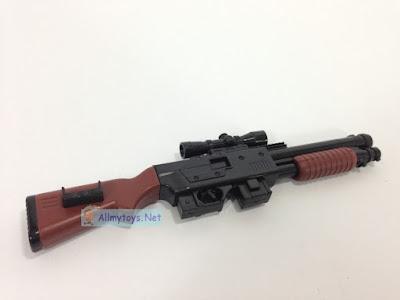 Look real toy gun shotgun