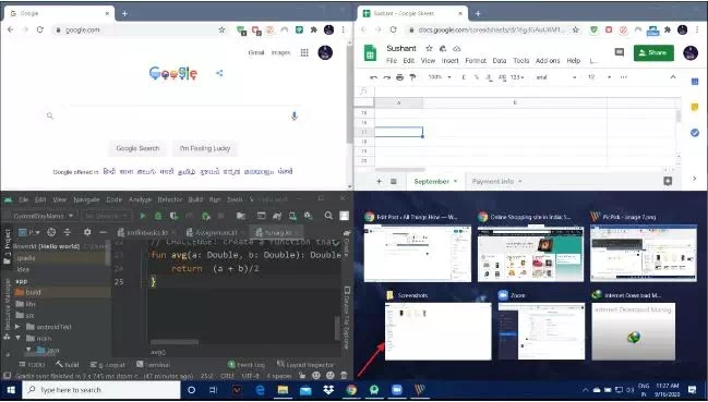 Cara Membagi Layar di PC Windows 10 (Split Screen)-8