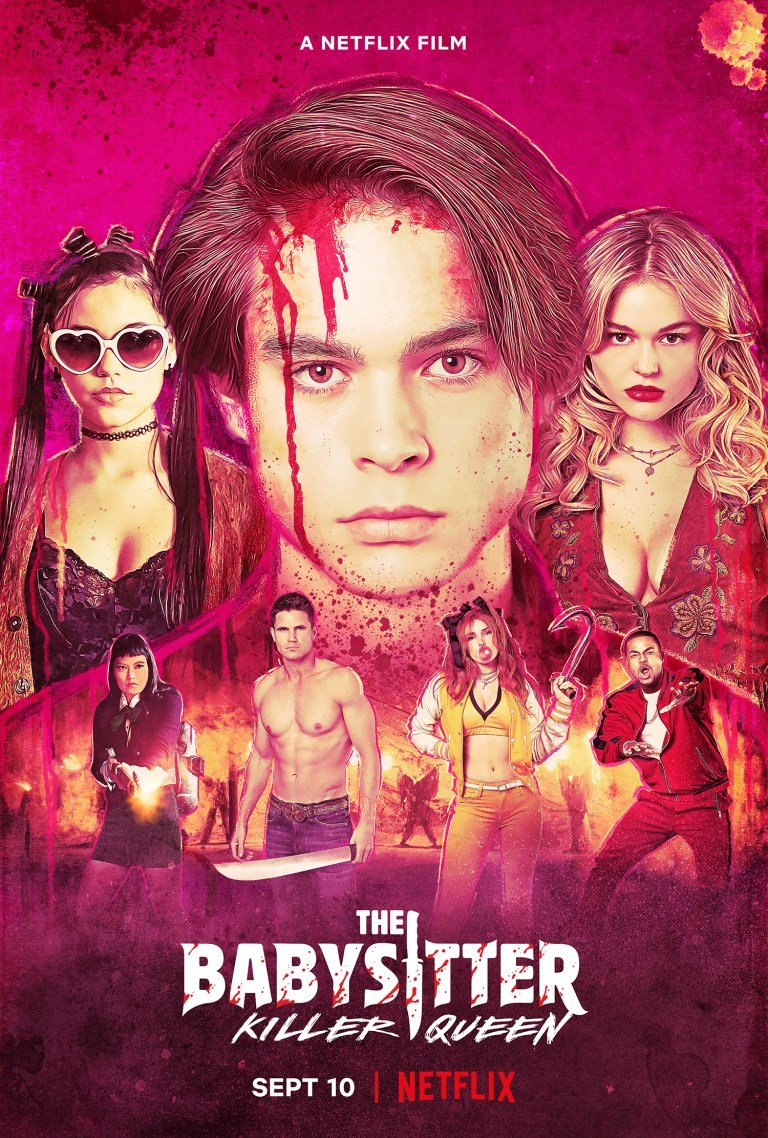 The Babysitter: Killer Queen poster