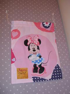 Bolsa Merienda Disney