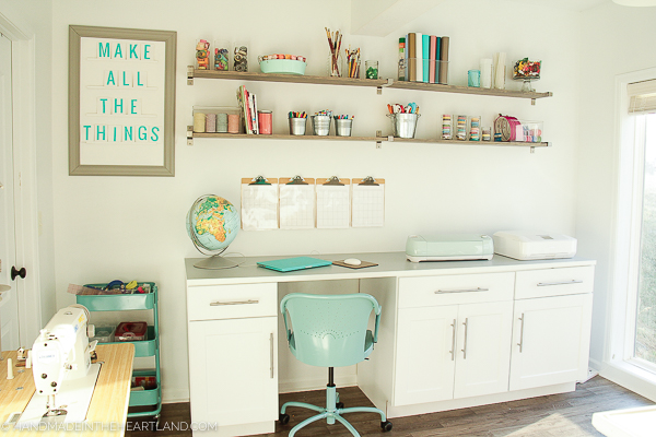 How I redid a bedroom to be a craft room