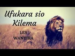 Zilipendwa | Les Wanyika - Ufukara sio kilema