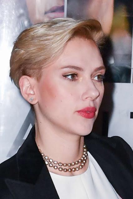 Scarlett Johansson at yummy pop launch party in Paris