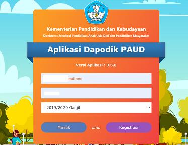 Download Aplikasi Dapodik Paud Versi 3 5 0 Tahun 2019 2020 Sekolah Kita