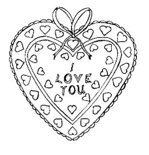 דפי צביעה אהבה