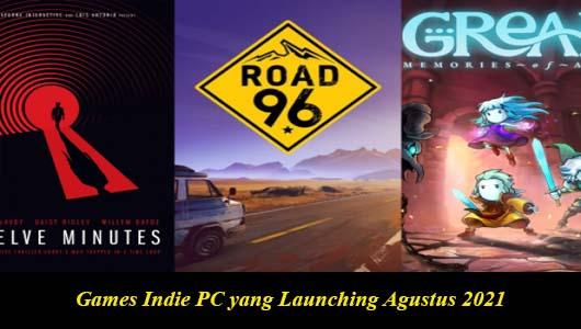 Games Indie PC yang Launching Agustus 2021