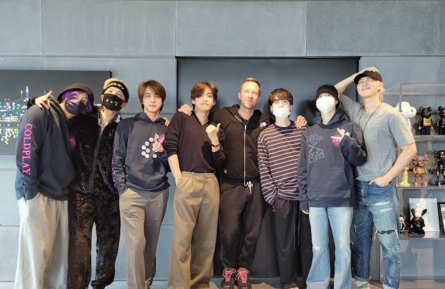 BTS y Coldplay se unen en colaboración con My Universe