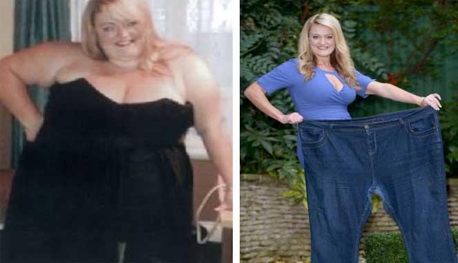 Benci Diet, Chloe Sukses Turunkan Berat Badan 45 Kg