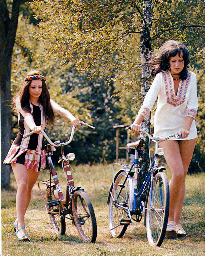 Maybe dating a girl is like riding a bicycle