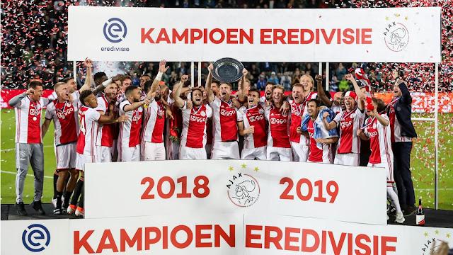 Ajax trở lại ngôi vương Hà Lan sau 5 năm chờ đợi 1