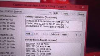 برنامج, تخصيص, وتعديل, دقة, العرض, لكارت, شاشة, الكمبيوتر, Custom ,Resolution ,Utility