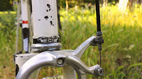 Raccords de cadre BCM d'un vélo restauré