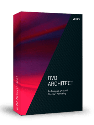 MAGIX Vegas DVD Architect box