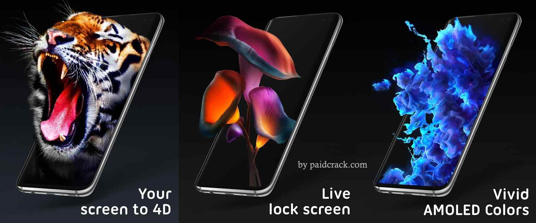 Pixel 4D Live Wallpapers 4K, Backgrounds 3D/HD Premium Mod Apk 2.7.2