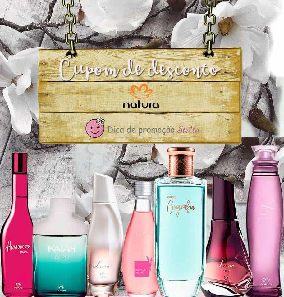 Cupom de desconto Natura perfumes