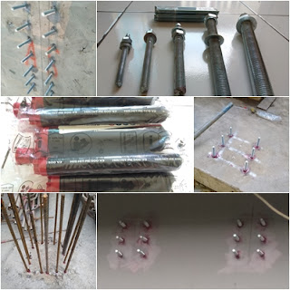Aplikator Chemical Anchor (Angkur)