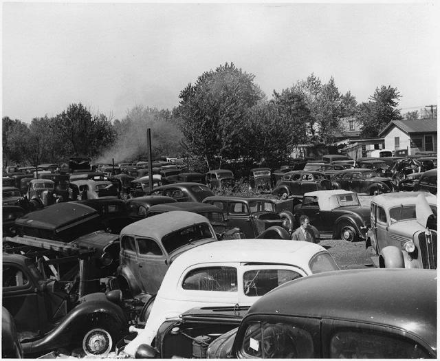 Three of America's Best Salvage Yards - Historic Vehicle ... |Salvage Yard
