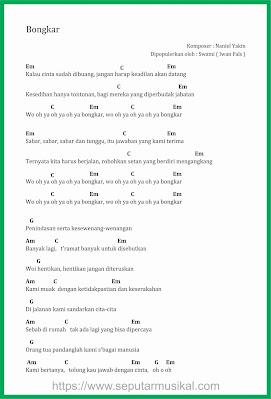 chord bongkar iwan fals