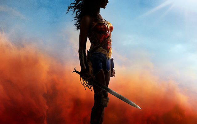 banner promocional wonder woman+