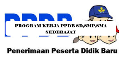 Download Program Kerja PPDB 2020