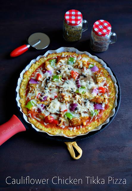 Cauliflower Chicken Pizza Recipe