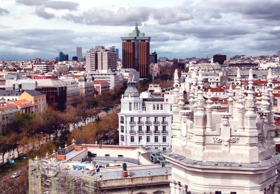 De Paseo Por Madrid Mirador Palacio De Cibeles Gratis El