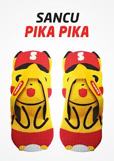 Sandal Sancu Pika Pika