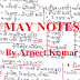 Arpit Kumar Hand Written May 2020 Monthly General Studies Notes pdf Download in Hindi