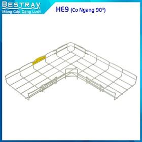 Bestray | Máng Cáp Dạng Lưới | Co, Tê | Co Ngang 90 Độ HE9
