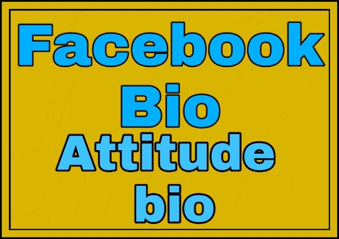 Facebook Bio For Boy-Girl ~Facebook Attitude bio status~ Hindi-English All Types Facebook bio