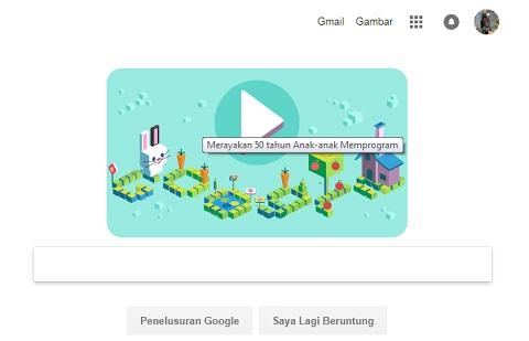 Google Doodle Merayakan 50 Tahun Coding untuk Anak-Anak