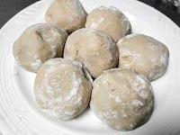 Round shape dough balls