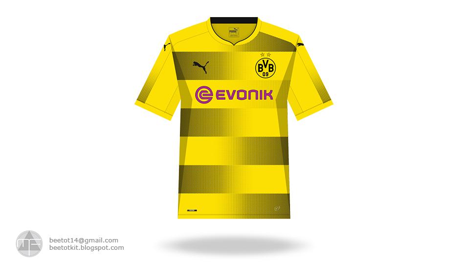 best sneakers 067a4 4df18 Beetot Kit: Borussia Dortmund Kit 1718