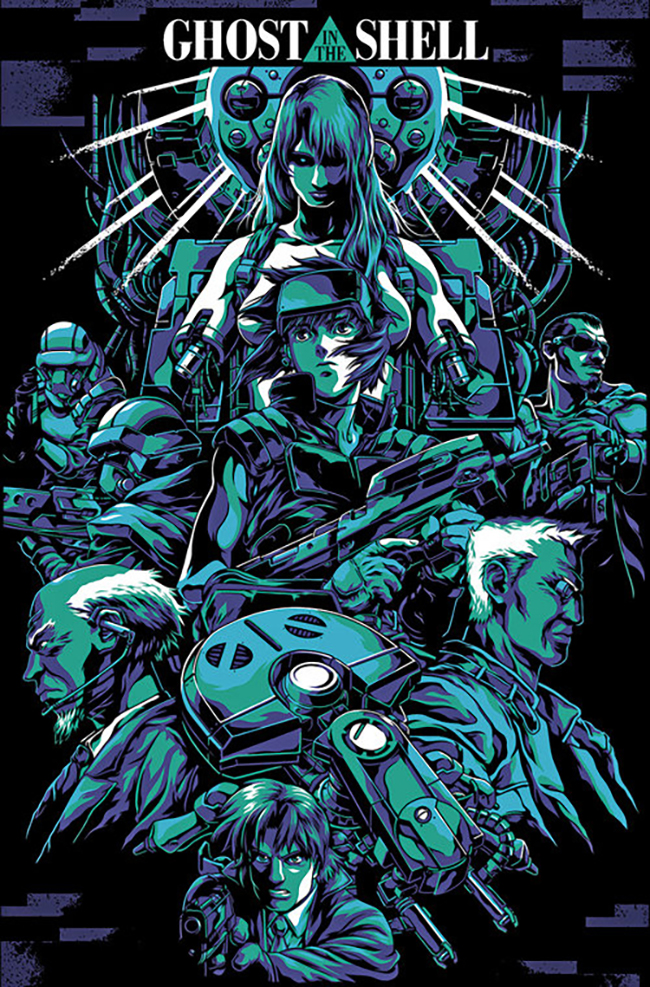 Alexander Iaccarino aka ThatKidWhoDraws - Ghost in the Shell