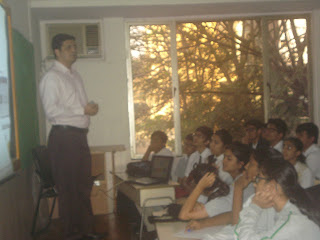 Career Counselling Workshop Seminar by Farzad Damania Career Nurturer Mumbai at City International School