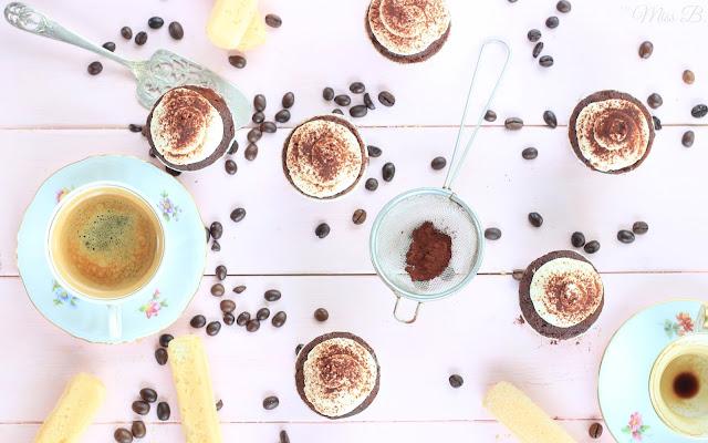 Tiramisu Cupcakes mit ALBERTO Espresso [Danke Mamma!]