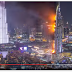 Hotel in Dubai on fire see time-lapse video