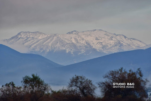 Η «Ζηνοβία» φέρνει τα πρώτα χιόνια και στην Αργολίδα