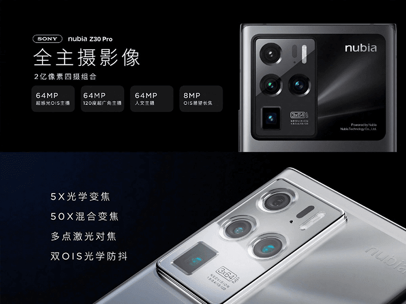 The powerful camera system of the phone
