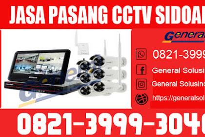 Jasa Pemasangan CCTV Candi Sidoarjo Jawa Timur 0812-1791-6273