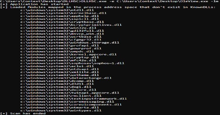 DLLHSC : DLL Hijack SCanner A Tool To Assist With The Discovery