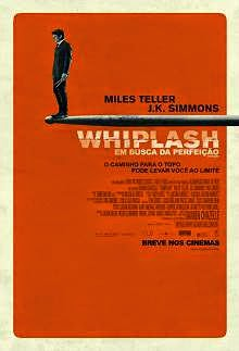 Whiplash (2015) English Movie Poster