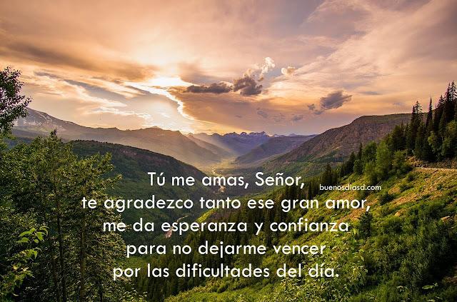 oración de la mañana buenos dias Dios