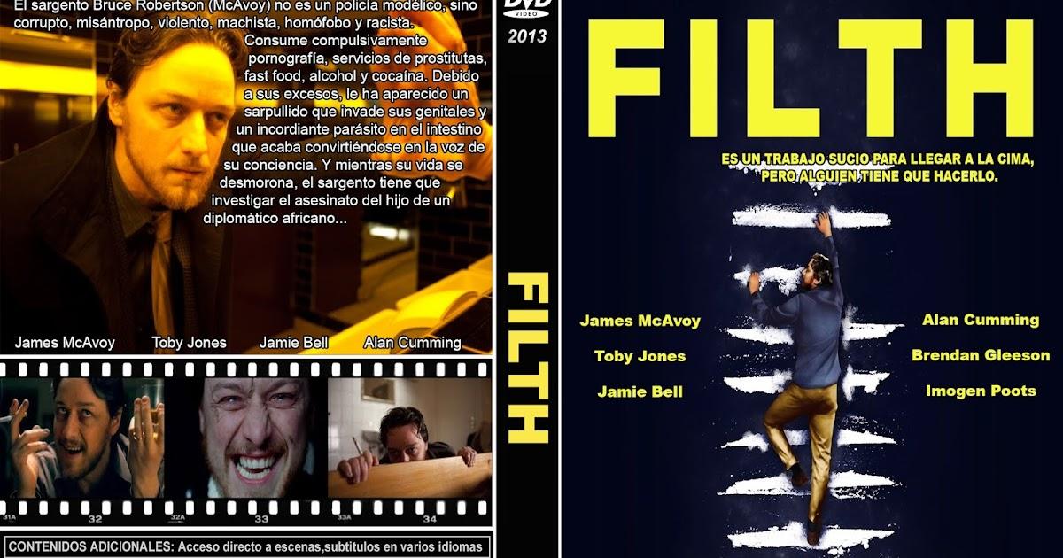 PB | DVD Cover / Caratula FREE: FILTH - DVD COVER 2013