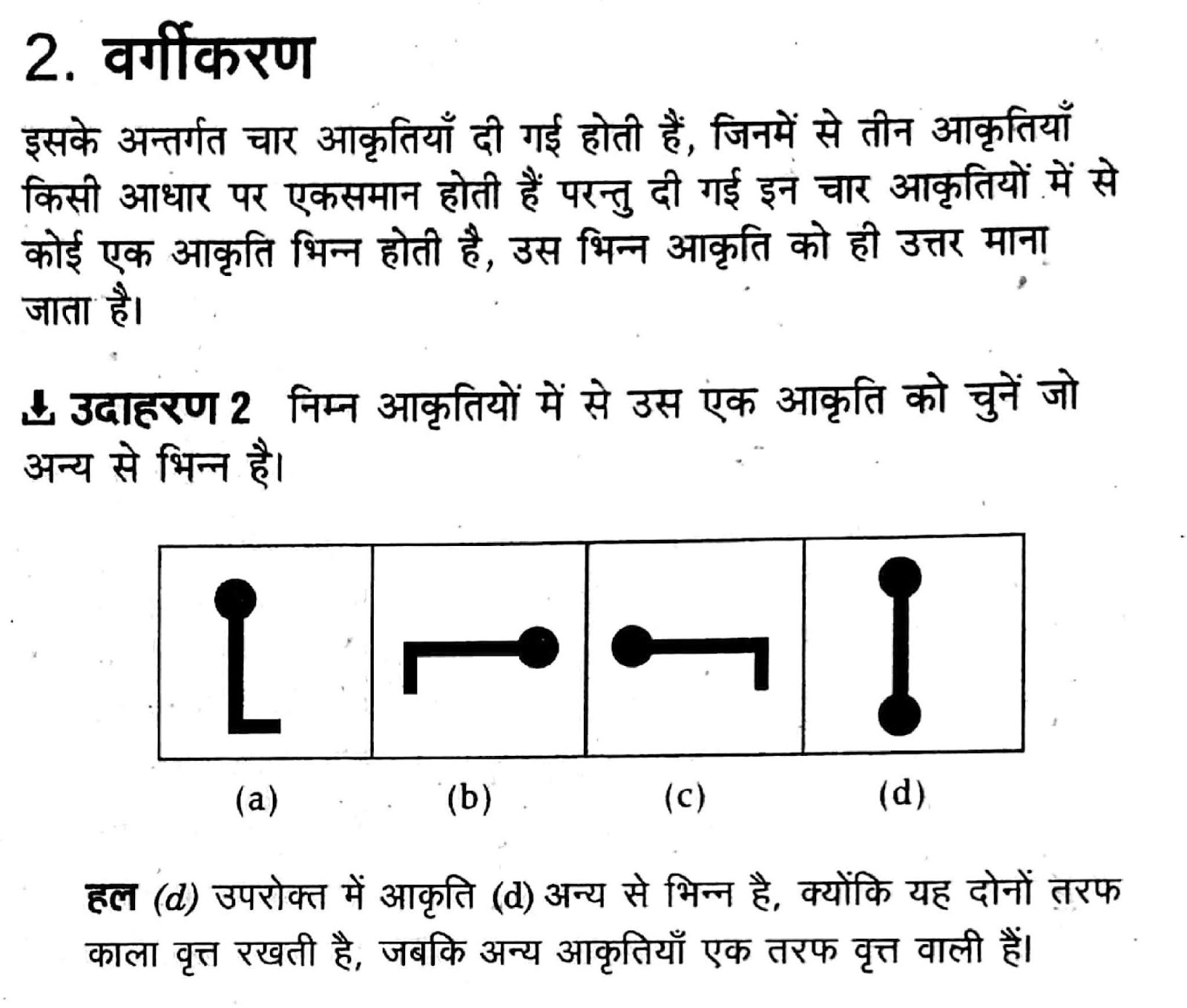 Classification Basic Diagram Reasoning Questions And