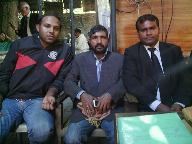 Advocate Sardar Mushtaq Gill,National Director LEAD with Younis Masih and Mr Sayhoon Eric